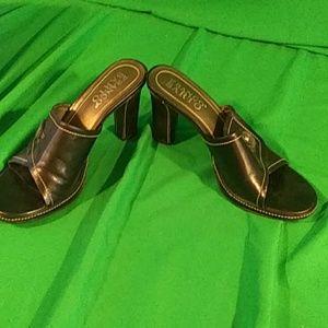 HP Franco sarto heeled sandals 9.5M black